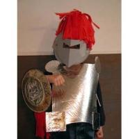 Bricolage déguisement de chevalier