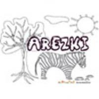 Arezki, coloriages Arezki