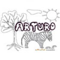 Arturo, coloriages Arturo