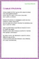 """Imprimer la poésie Poésie """" Couleurs d'Automne """" de Jean Claude Brinette"""