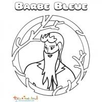 Coloriages Barbe Bleue
