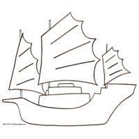 Coloriages de bateaux juniors