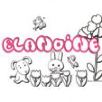 Blandine, coloriages Blandine