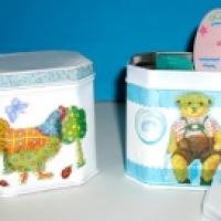 boîte de rangement bébé - Tête à modeler