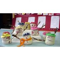 Modelage de bonshommes de neige