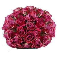 Boule de roses de décoration