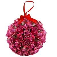 Roses en boule pour la fête des mères