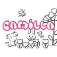 Camilia, coloriages Camilia
