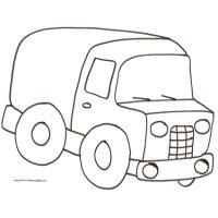 Dessin Camion Benne Coloriage.Coloriages De Camions Tete A Modeler
