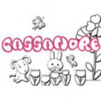 Cassandre, coloriages Cassandre