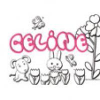 Celine, coloriages Celine