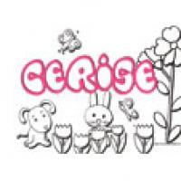 Cerise, coloriages Cerise