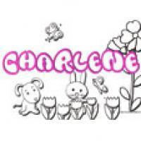 Charlene, coloriages Charlene