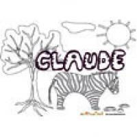 Claude, coloriages Claude