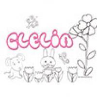 Clelia, coloriages Clelia