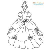 Coloriage Princesse Qui Danse Avec Prince.Coloriage Princesse Coloriage Princesse En Ligne Gratuit A
