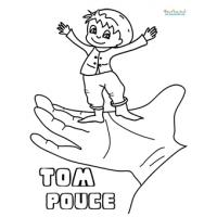 Coloriages Tom Pouce
