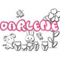 Darlene, coloriages Darlene