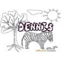Dennis, coloriages Dennis