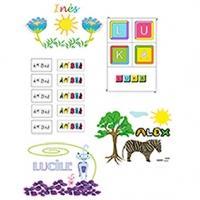 Actuellement 4 sortes d'activités sur les prénoms sont à imprimer sur Tête à modeler. Vous trouverez les activités pour jouer avec les lettres du prénom, des jeux de labyrinthe réalisés avec l'initiale ou les lettres du prénom, des activités de