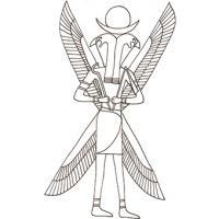 Coloriage A Imprimer Egypte Antique.Coloriages Et Dessins Sur L Egypte Ancienne Tete A Modeler