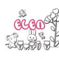 Elea, coloriage Elea