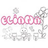 Eliana, coloriages Eliana