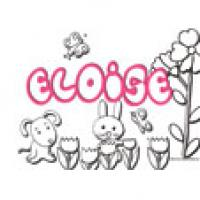 Eloise, coloriages c