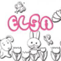Activités sur le prénom Elsa