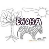 Enoha, coloriages Enoha