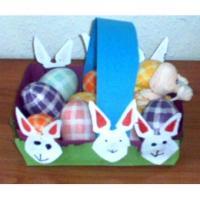 Panier à oeufs de Pâques