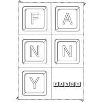 Jouer avec les prénoms comme Fanny