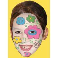 Maquillage de fleur arty
