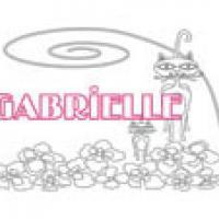 Gabrielle, coloriages Gabrielle