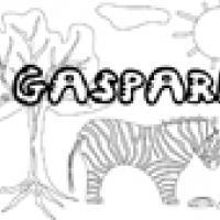 Activités sur le prénom Gaspard