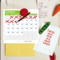 Grilles du calendrier à cocher