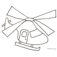 Coloriage Helicoptere Retrouvez Le Coloriage Helicoptere