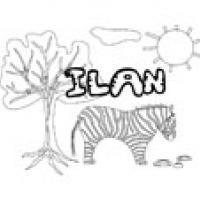 Ilan, coloriages Ilan