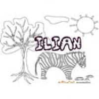 Ilian, coloriages Ilian