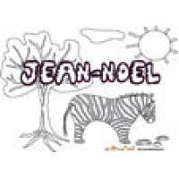 Jean-Noel, coloriages Jean-Noel