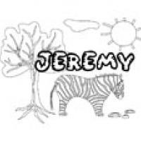 Jeremy, coloriages Jeremy