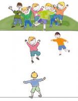 Jeu collectif enfant