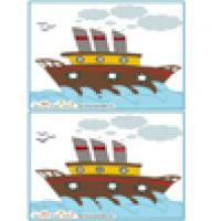 Jeux des erreurs images de mer