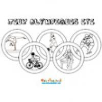 Coloriage Jeux Olympiques Jeux Olympiques Sur Tete A Modeler