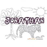 Jonathan, coloriages Jonathan