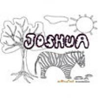 Joshua, coloriages Joshua