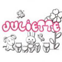 Juliette, coloriages Juliette