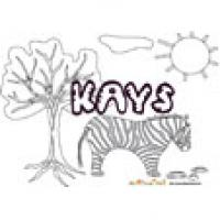 Kays, coloriages kays