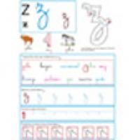 Activités avec la lettre Z