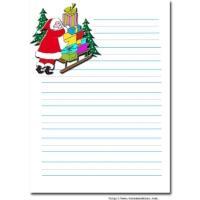 Le Pere Noel Repond Au Lettre.Modele Lettre Au Pere Noel